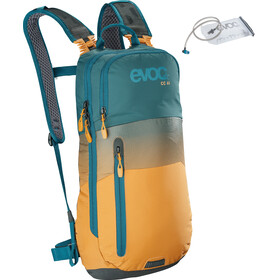 EVOC CC Lite Performance Backpack 6l + Bladder 2l, petrol/loam